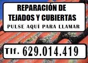 reparacion de tejados Madrid