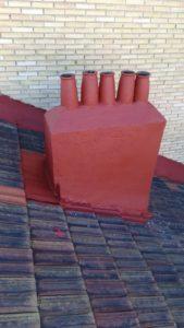 reparacion tejados chimenea