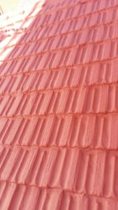 tejado rojo